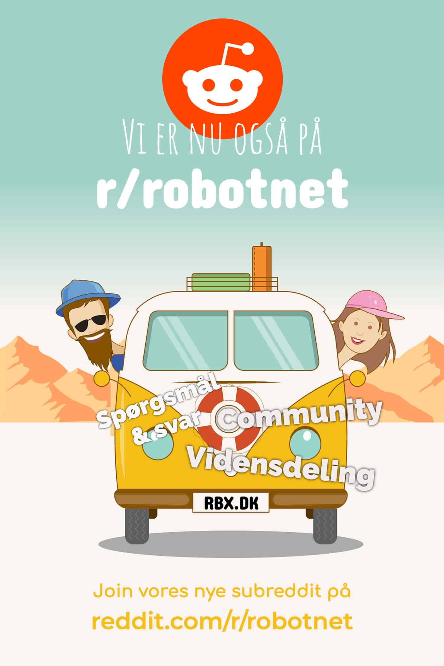 Robotnet på Reddit
